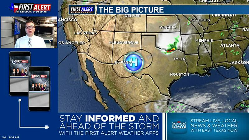 Saturday Weather At Your Fingertips 6-12-21