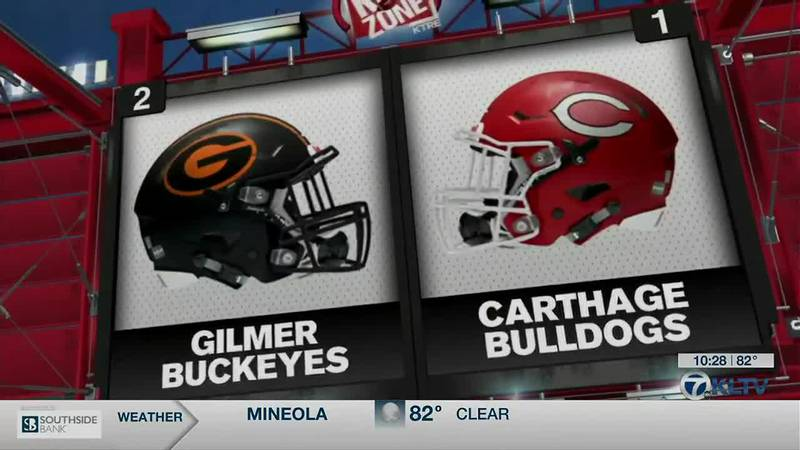 Game of the Week Gilmer Carthage