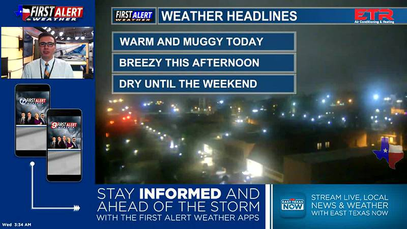 Wednesday Morning Weather At Your Fingertips 6-9-21