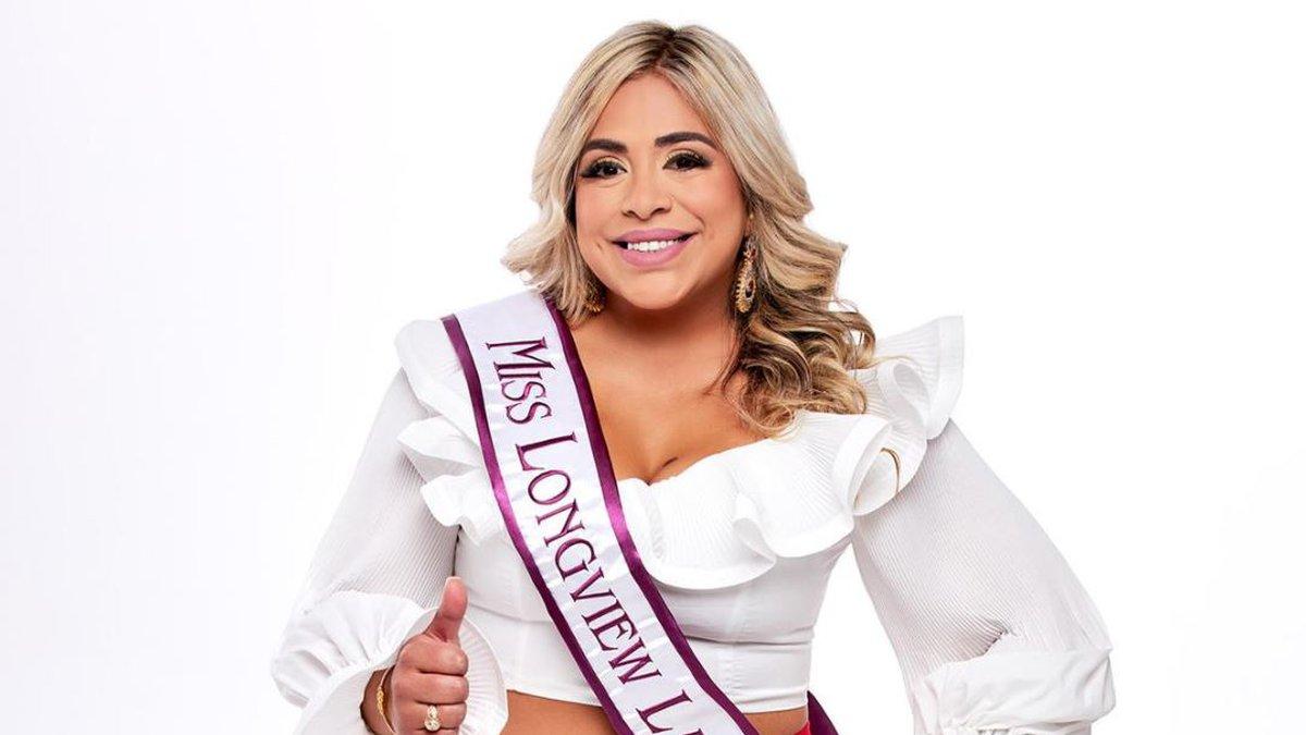Miss Texas Latina contestant Michelle Gamboa