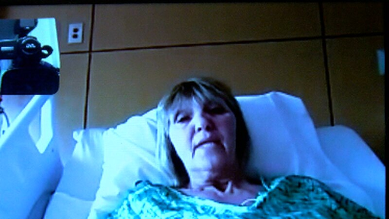 Windell O'Keefe is in a hospital in Tyler waiting for the results of her COVID-19 test.