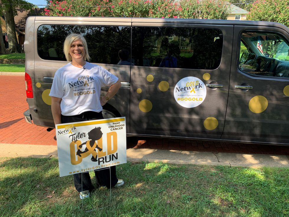 Heather Rucker is one of three moms who founded the Gold Network of East Texas.