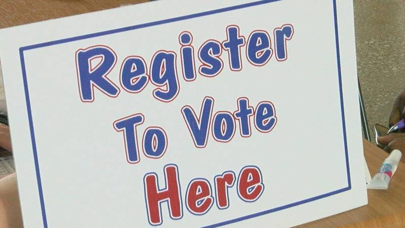 Local colleges host voter registration drives on campuses for students