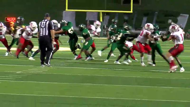 WATCH: Highlights from the first half of the Longview vs. Marshall game