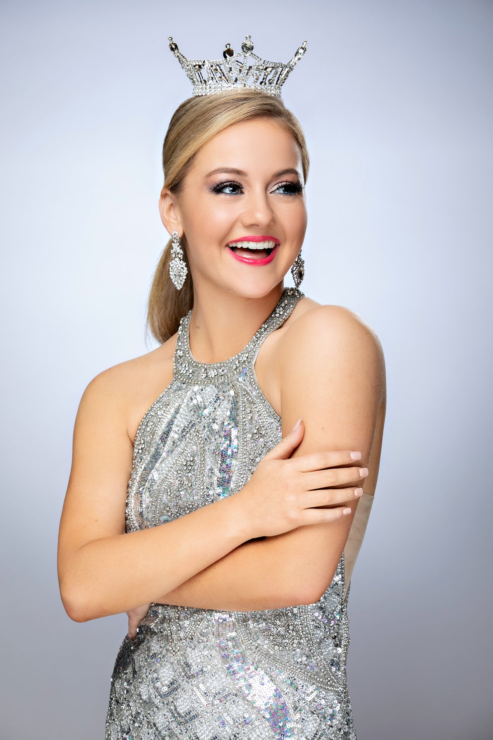 Allie Graves Official head shot for Miss. Texas' Outstanding Teen 2019