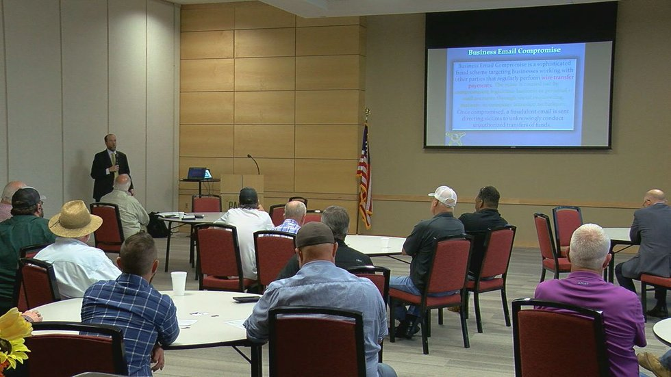 East Texas Gas Producers Association hosted a meeting on Tuesday at Panola College in Carthage.