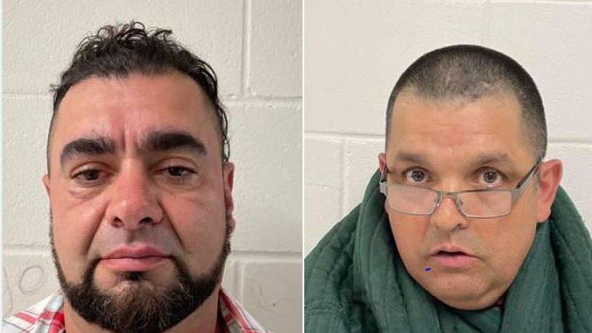 Pictured are Juan Caporales and Juan Sobrino-Montero (Source: Crockett Police Department...