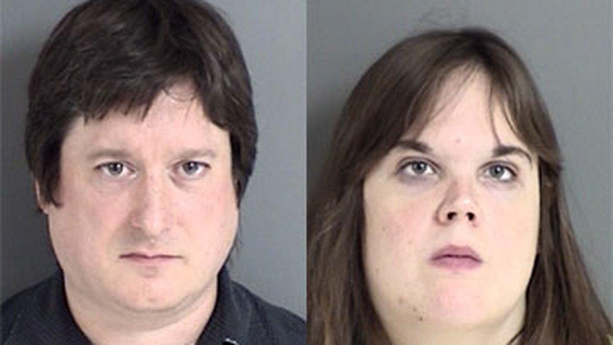 Thomas Mayhew and Shannon Creevey (Source: Angelina County Jail)