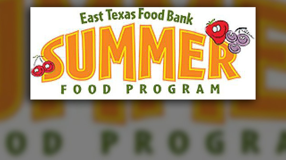 The East Texas Food Bank is kicking off its Summer Food Program.