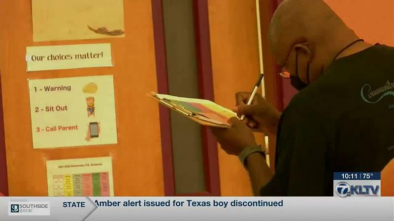 Arp ISD Elementary school kicks off WATCH D.O.G.S program