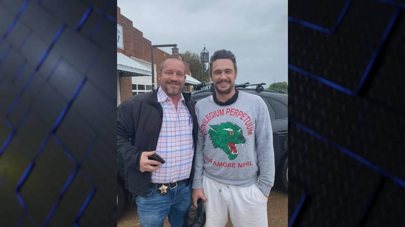 James Franco visits Archer City
