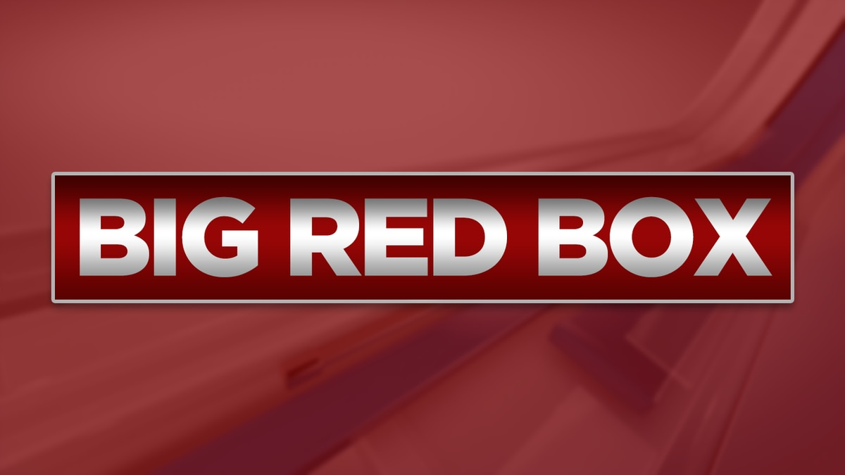 Big Red Box -- Looking for something you saw on-air? Take a look inside our Big Red Box.