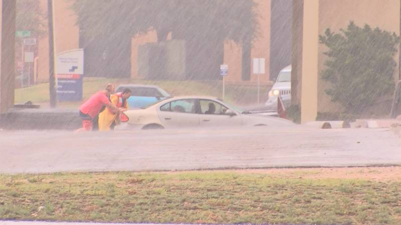As rain falls across the Permian Basin, some areas are being affected by heavy flooding.