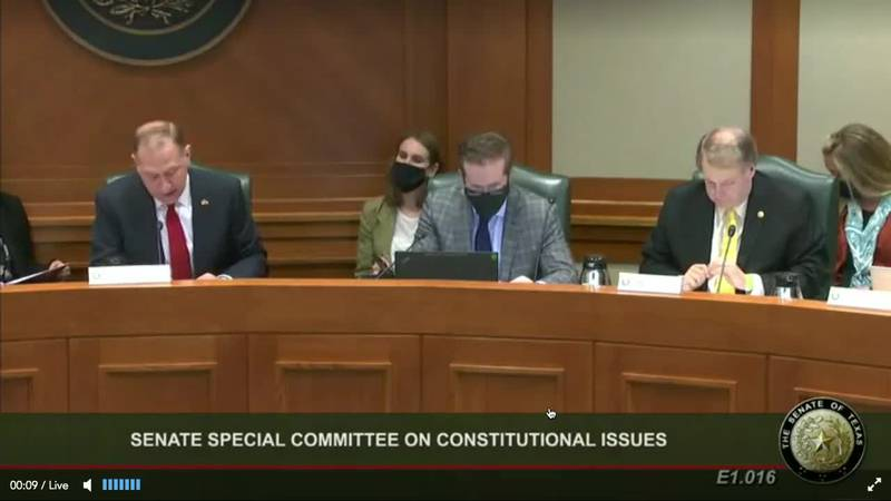 Senate committee kicks off hours of testimony on permitless carry bill