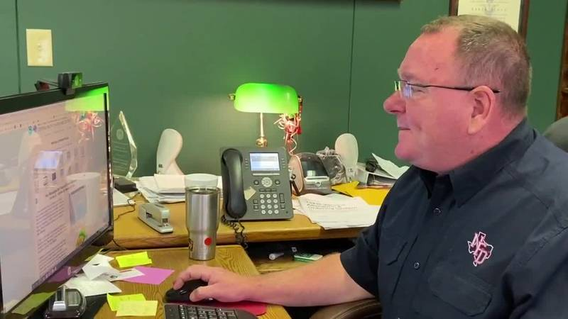 Nacogdoches Fire Chief Keith Kiplinger spoke with KTRE about preparations being made for...