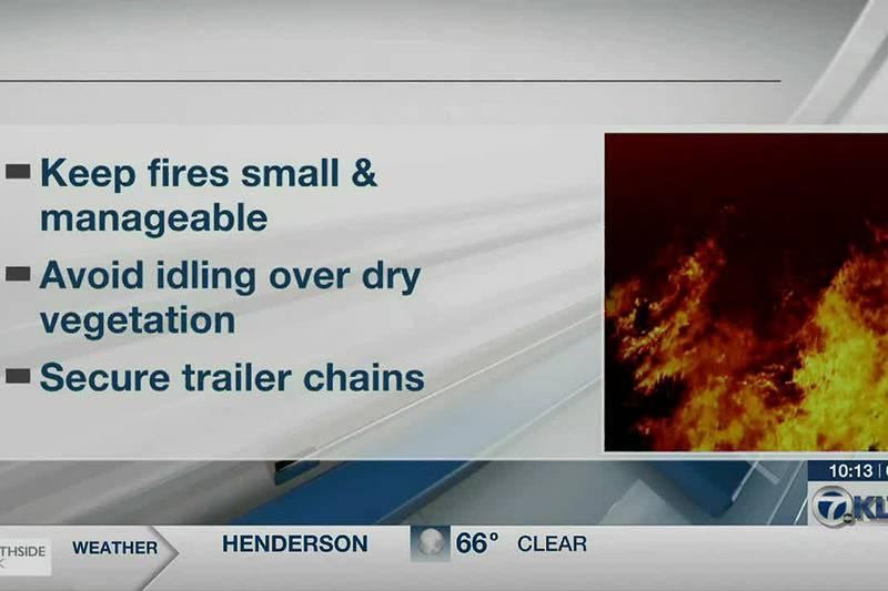 Texas Forest Service explains science behind burn bans