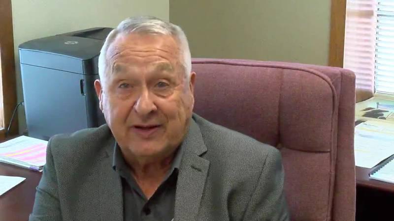 Angelina County judge Don Lymbery