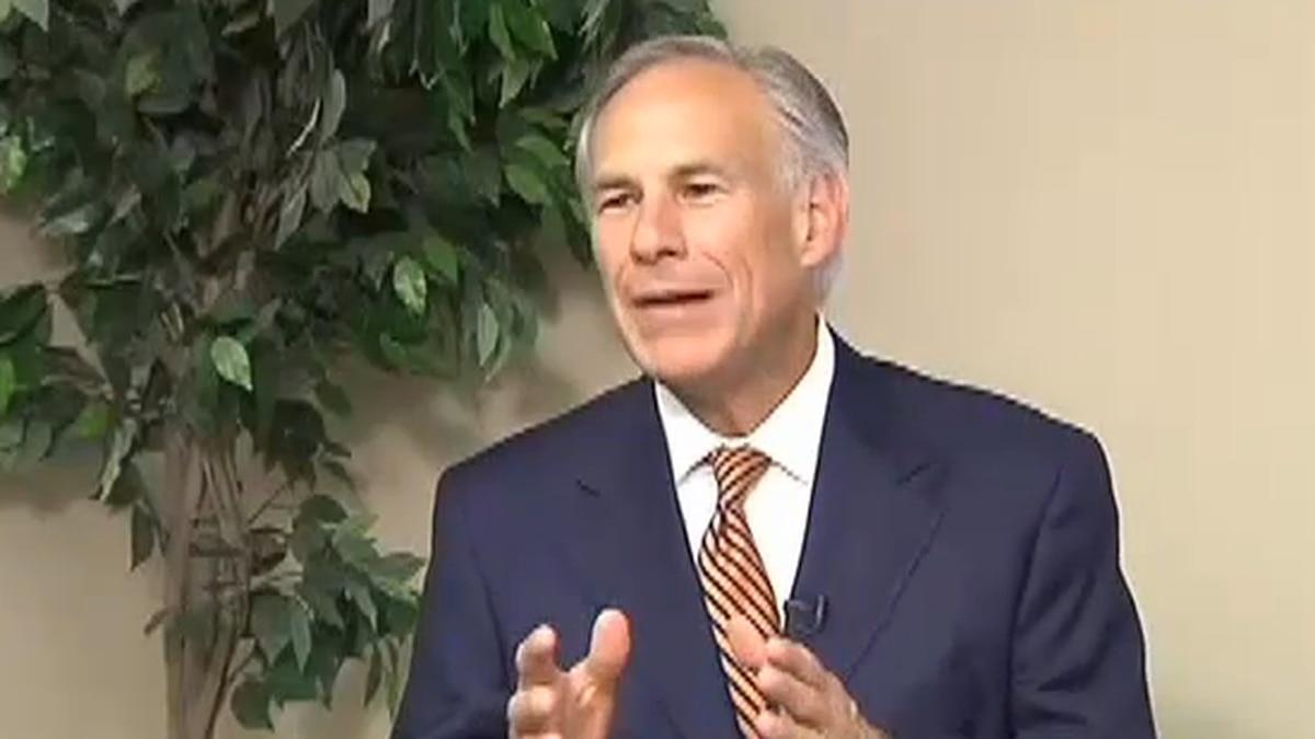 Texas Governor, Greg Abbott