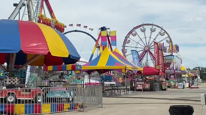 Wednesday is opening day for the Piney Woods Fair in Nacogdoches and guests can take advantage...
