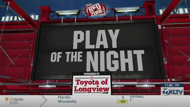 Week 9 Play of the Night: Diboll Lumberjacks