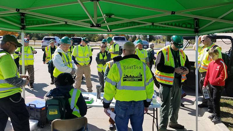 EastTex Regional CERT is looking for volunteers to register for their upcoming training classes.