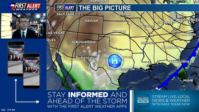 Sunday Morning Weather At Your Fingertips 10-17-21