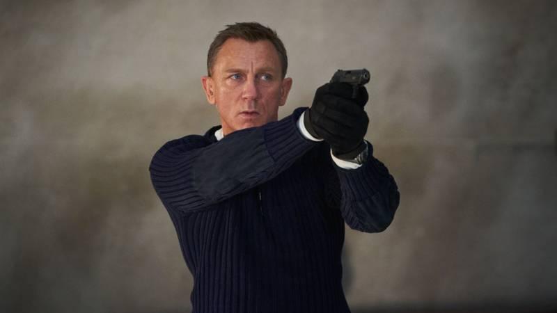 Daniel Craig as Ian Fleming's James Bond 007.