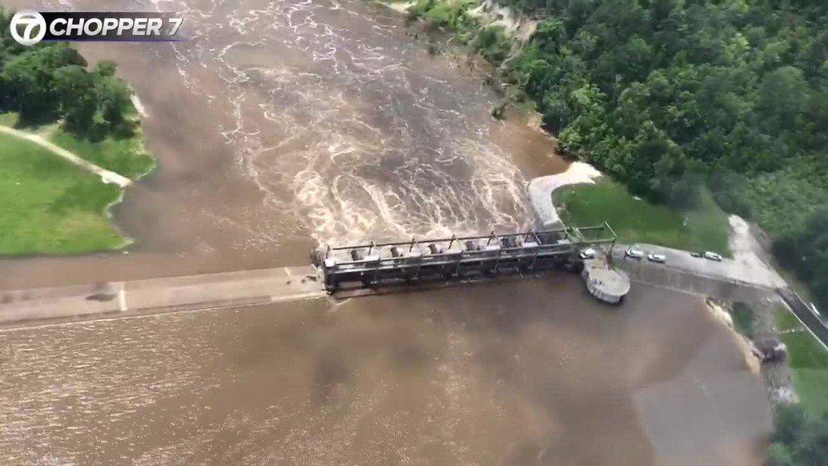 WEBXTRA: Sam Rayburn flooding