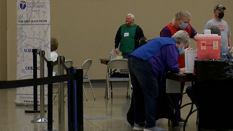 Out of about 300,000 people in deep east Texas, Shaw says a small percentage of individuals...