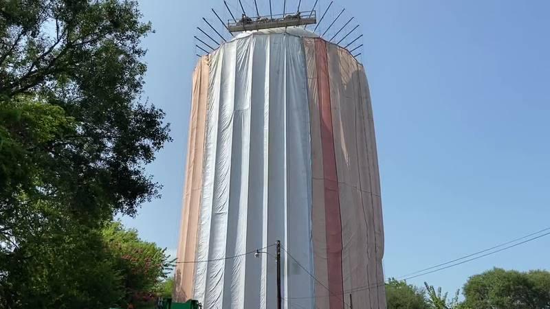 WEBXTRA: White Oak water tower