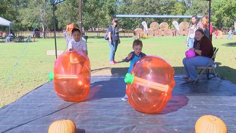 Seasons of Hope Center host special needs pumpkin patch