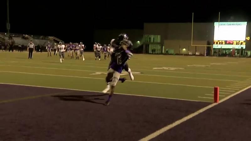 WATCH: Lufkin's Robert Fields makes long catch for Panther's touchdown