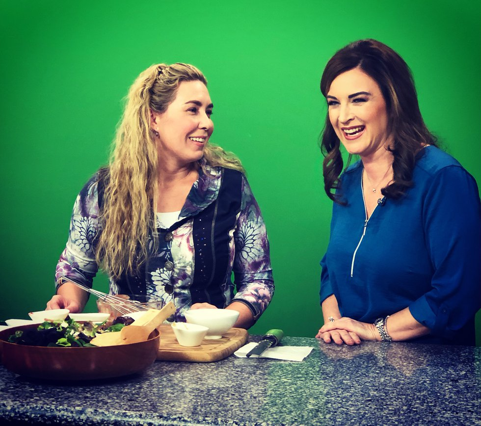 Michelle Griffin and Jennifer Hines (Source: KLTV/Mama Steph on East Texas Kitchen)