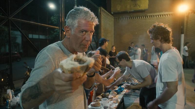 "Anthony Bourdain is the subject of documentarian Morgan Neville's latest film, ""Roadrunner: A..."