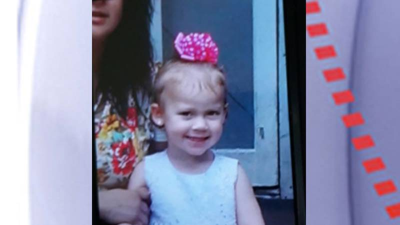 Pictured is 2-year-old Zamaya Whitaker. (Source: Texas Department of Public Safety)