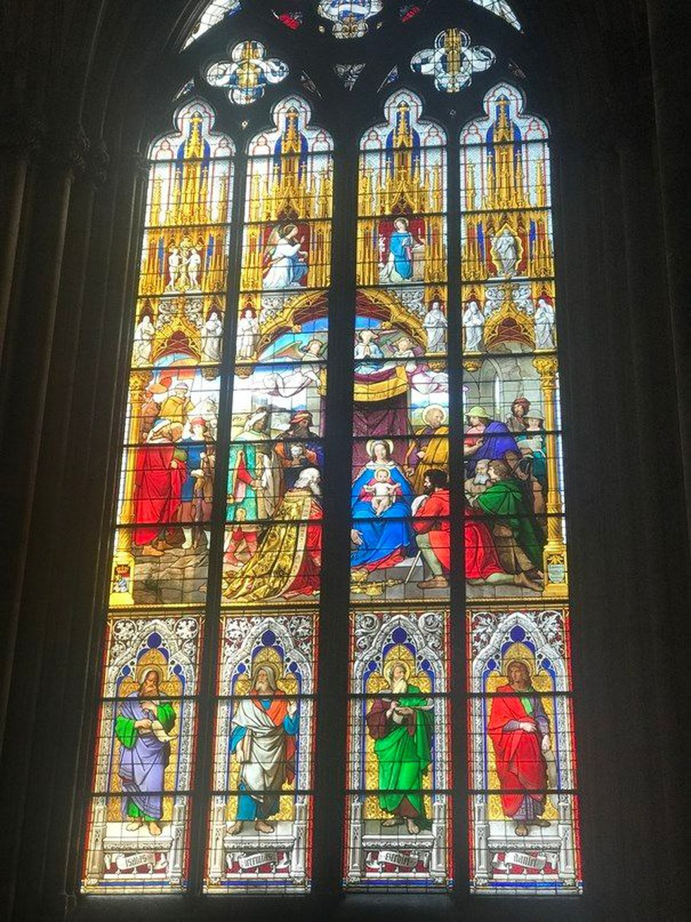 More than 20 thousand tourists file through the cathedral daily, making it Germany's...