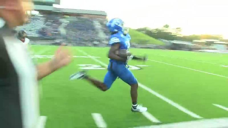 WATCH: Tyler Lions' Derrick McFall runs long for a touchdown