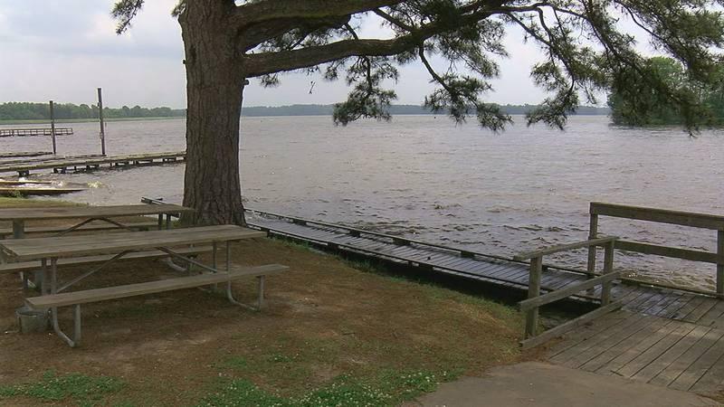 Lake Murvaul on Monday, May 3, 2021.