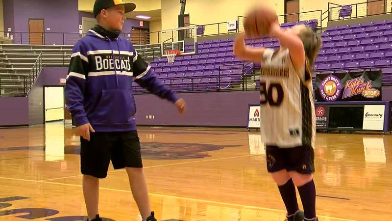 9-year-old Hallsville athlete inspiring teammates