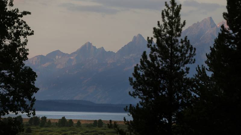 Authorities have been searching Grand Teton National Park in Wyoming for a Texas man who was...