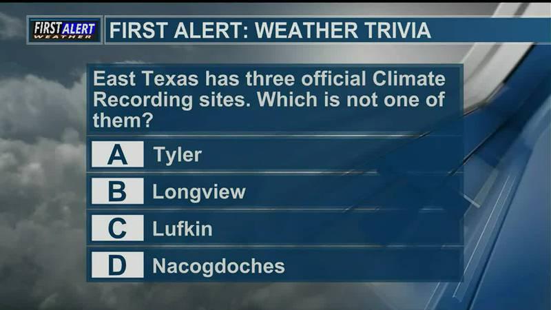 Saturday Weather Trivia 9-25-21