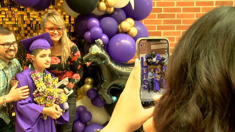 Thursday was a big day of celebration as many Special Education students at Lufkin High School...