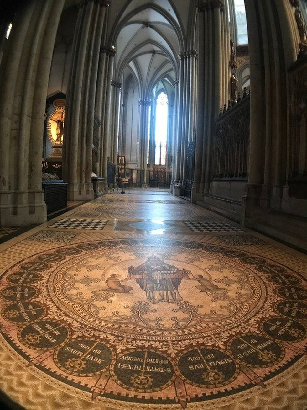 The cathedral is home to the shrine of the Magi, relics of saints, and priceless works of art....