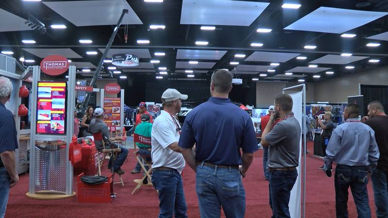 New technology, equipment displays, keynote speakers, and even a few food trucks that's what...