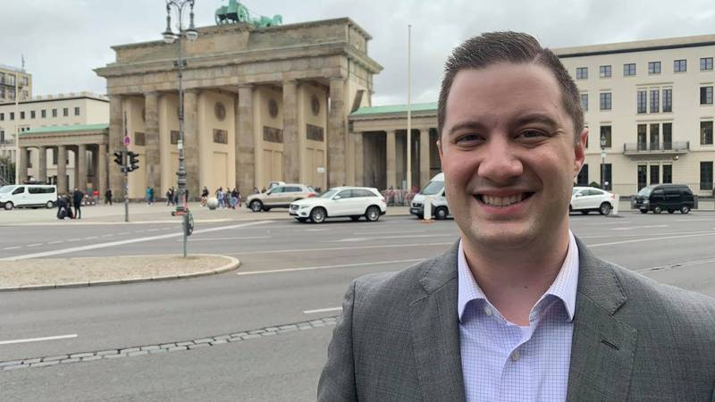 KLTV's Lane Luckie reports on lingering divisions in Germany due to a lagging economy in some...