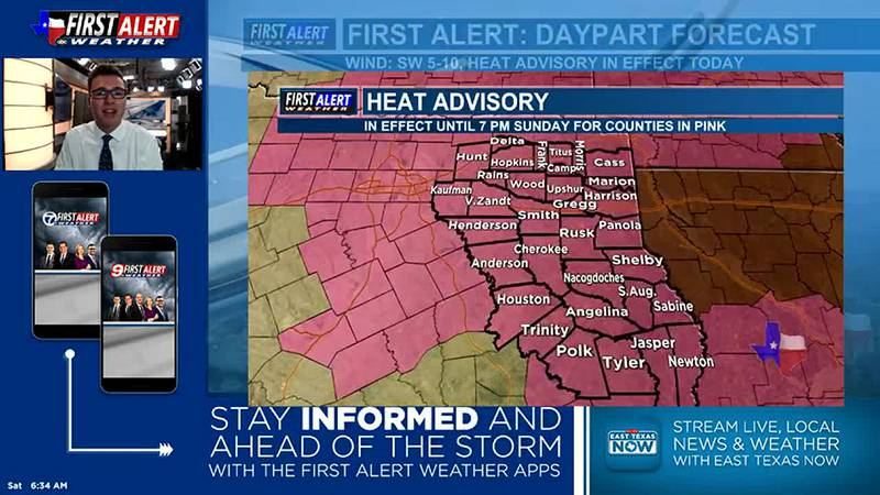 Saturday Morning Weather At Your Fingertips 7-31-21