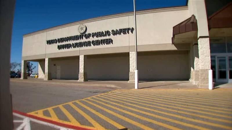 Departamento de Seguridad Pública de Texas. Centro de Licencias de Conducir.