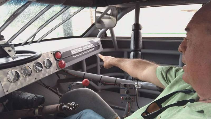 White Oak man owns No. 3 racing car driven by NASCAR legend Dale Earnhardt, Sr. (Jamey...