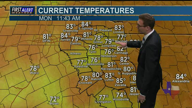 Monday Afternoon Weather At Your Fingertips 6-28-21