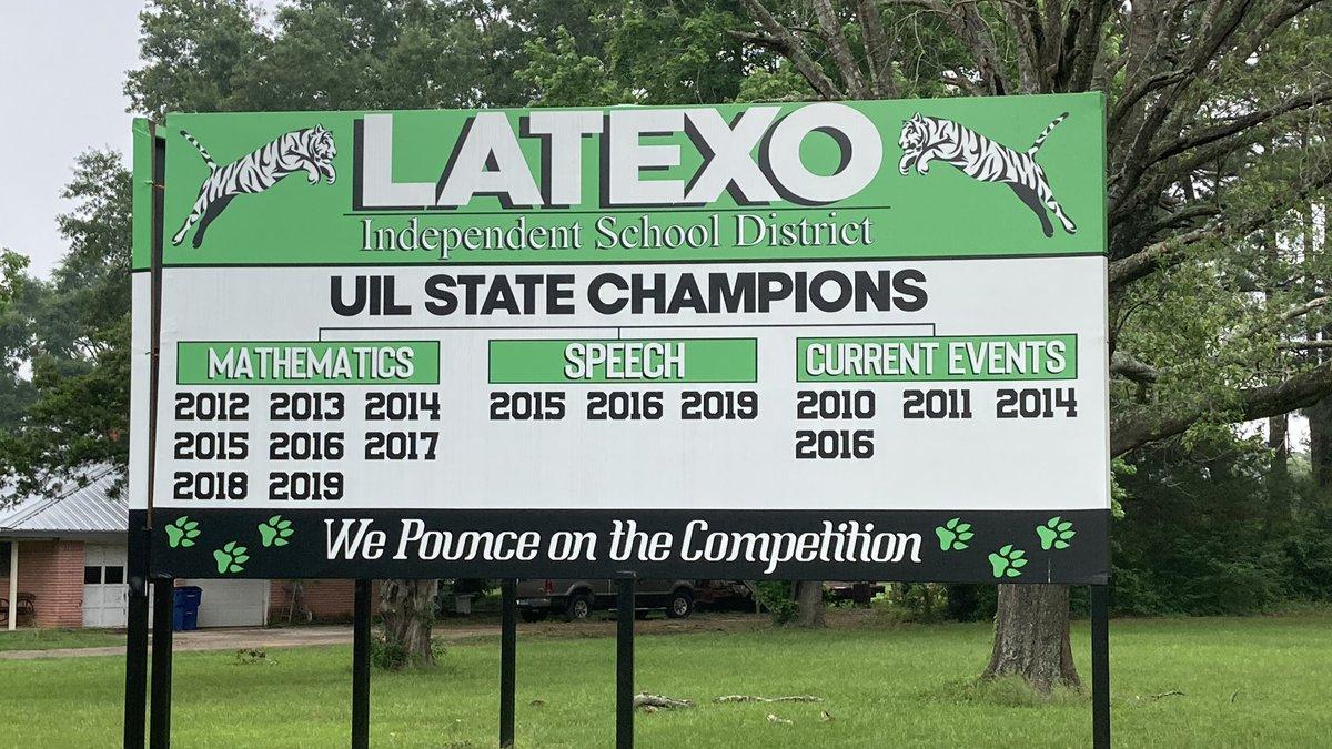 Latexo High School's math club won its 9th straight UIL state championship.